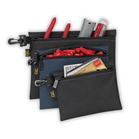 CLC SW-955 3 MULTI-PURPOSE CLIP-ON ZIPPERED BAGS