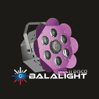 BALALIGHT LED+LASER FLOWER crimson